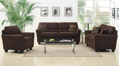 iSimone in Brown - $497.00 Couch Only (3 piece set - $1267.00)