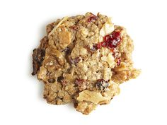 Healthy Loaded Oatmeal Cookies using oatmeal cookie mix and substituting applesauce for oil plus an addition of nuts, dried fruits and coconut-from FoodNetwork.com