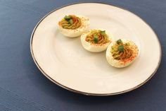 Deviled eggs are flavorful, protein-packed crowd pleasers, especially when you have fun with the toppings and make them healthier with a few recipe tweaks.