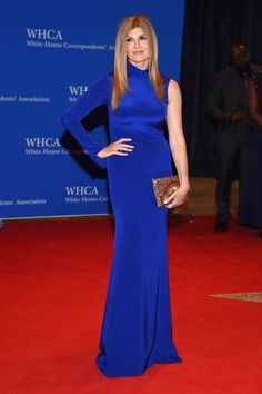 What the stars wore to the 102nd (and Obama's last) WHCD   Connie Britton