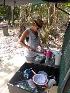 kochen im campingbus Vw Bus, Campervan, Outdoor, Autos, Room Art, Restore, Rv, Cooking, World