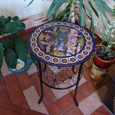 Столик журнальный в восточном стиле . Ручная роспись – купить в интернет-магазине на Ярмарке Мастеров с доставкой