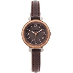 6c72593ec8bb Fossil Women s ES3138  Heather  Mini Brown Leather Strap Watch - product -  Product Review