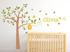 Hey, I found this really awesome Etsy listing at https://www.etsy.com/listing/191291447/wall-decals-nursery-tree-wall-decal-with