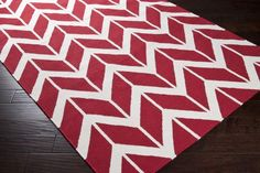 Surya Fallon FAL-1053 Area Rug From delicate lattice patterns to boldly colored chevron patterns the Fallon Collection makes a statement in flat weave; from creator Jill Rosenwald known for her beautifully colored, hand-made ceramics. The Fallon Collection's patterns and the hand woven flat weave construction beautifully combine to highlight its simplicity and sophistication. Fresh and fun patterned rugs with a strong designer color palettes.