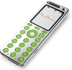 Japanese 'Talby' cellphone, design by Marc Newson.