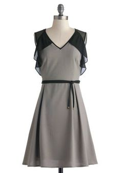 Graphite for Your Right Dress, #modcloth