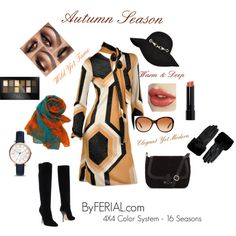 A fashion look from February 2016 by byferial featuring Tom Ford, Jimmy Choo, FOSSIL, Natasha Accessories, Tiffany & Co., Ted Baker, River Island, Bobbi Brown C...