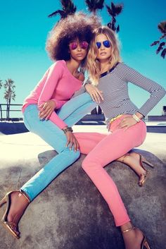 Magdalena Frackowiak & Anais Mali for Juicy Couture 2014