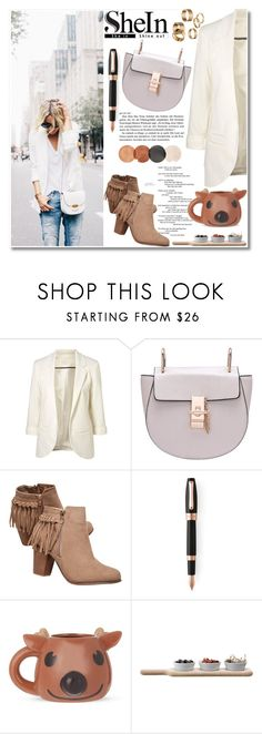 """""""Whitemare"""" by violet-peach ❤ liked on Polyvore featuring Wet Seal, Montegrappa, Paladone, LSA International and Apt. 9"""