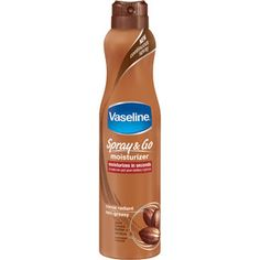Vaseline Spray & Go Cocoa Radiant Moisturizer, 6.5 oz    (Bought this and love it!)