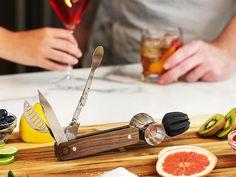 Vintage Oak Bar10der Tool Set by Quench