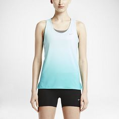 Damska koszulka treningowa bez rękawów Nike Gradient