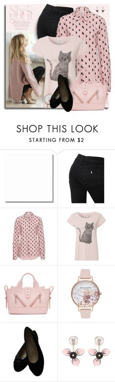 """""""The Cat's Meow: Feline Fashion"""" by breathing-style ❤ liked on Polyvore featuring STELLA McCARTNEY, Kenzo, Olivia Burton, Chanel, Marni and vintage"""