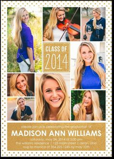 Triumphant Shout Graduation Invitations Magnolia Press Aloe