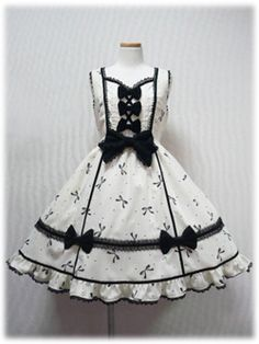 Angelic Pretty / Jumper Skirt / Ribbon Sugar JSK