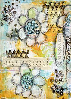 Utilisation de peinture acrylique en Art journalisation ... - Roben-Marie Smith