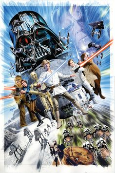 Mike Mayhew Original STAR WARS: SHATTERED EMPIRE #1 Yesteryear Comics Variant Cover