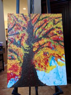 First painting... #autumtree