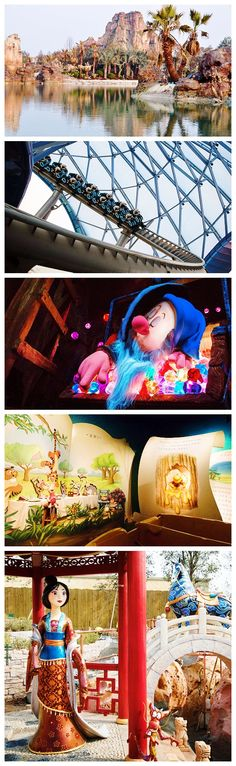 First look at some of the attractions of Shanghai Disneyland, opening June 16