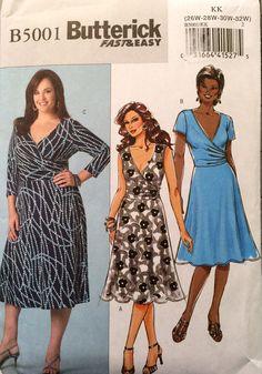 Butterick Fast and Easy B5001 Women's Dress Pattern by tealducktoo