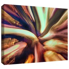 'Espectro Suculenta' by Dean Uhlinger Painting Print Gallery-Wrapped on Canvas
