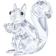 A heartwarming design inspired by the beauty and elegance of nature. This cute squirrel is expertly crafted in clear crystal with black crystal eyes. ... Shop now