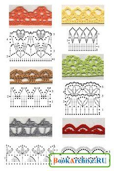 Book of many stitches, motifs & diagrams.  500 pages •✿• Teresa Restegui http://www.pinterest.com/teretegui/ •✿•