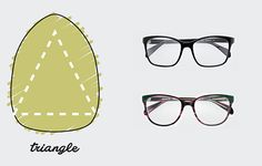 Triangle Shaped Face / The only Face Shape Guide you need to find the perfect pair of glasses for you http://milk-eyewear.tumblr.com/post/130147874082/to-know-face-shape-guide-find-your-finest