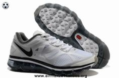 reputable site ae957 2dfc4 Buy Nike Air Max 2012 Summit White Metallic Silver Anthracite Mens The Most  Flexible Running Shoes