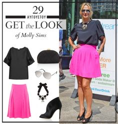 Get the look: Το μοντέρνο chic look της Molly Sims