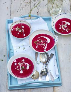 Rezept: Kalte Rote-Beete-Suppe