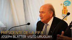 Presidente de la FIFA en Uruguay