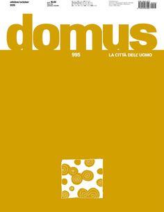 DOMUS : Archittetura, design, arte, comunicazione, nº 995. SUMARIO: http://www.domusweb.it/it/issues/2015/995.html