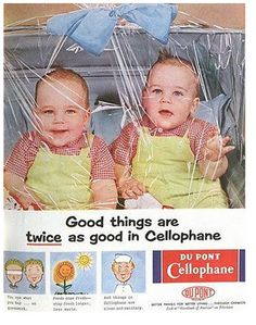 Don't know much about babies, but even I know you don't wrap them in cellophane!