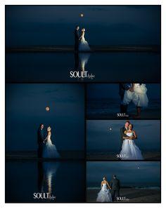 Beach Wedding. Full Moon Wedding. Night time Wedding. Long Branch Wedding. McLoone's Pier House Wedding. Boardwalk Wedding. New Jersey Wedding. Wedding Photography.