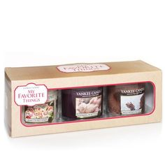 My Favorite Things%u2122 Small Tumbler Gift Trio from Yankee Candle on Catalog Spree, my personal digital mall.