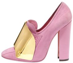 Pretty in Pink YSL Loafers