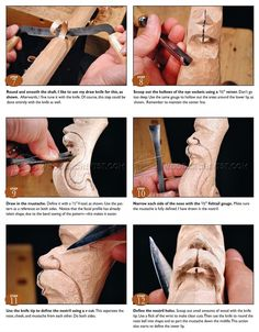 #957 Carving Wizard Staff - Wood Carving Patterns - Wood Carving