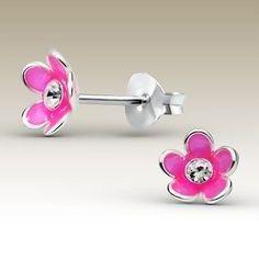 Leuke & vrolijke oorbellen voor meisjes, echt zilver en betaalbaar - Damessieraden en kindersieraden