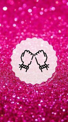 """Capas para destaques do instagram tema """" Glitter Rosa """"( para mais complementação segue o insta @capas_para_destaques_liih) Pink Instagram, Instagram Blog, Instagram Story, Glitter Rosa, Pink Glitter, One Word Quotes, Emoji Stickers, Instagram Highlight Icons, Bff"""