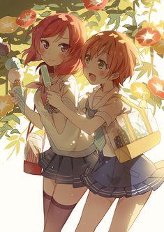 Love Live!, Maki and Rin