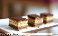 Fransız pastacılığında devrim yaratan Opera Pasta'nın hikayesi ve tarifi... (Opera Cake of Dalloyau Patisserie)