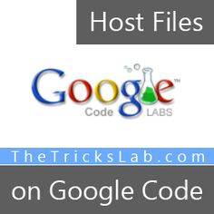 How to Host Files on Google Code?   The Tricks Lab