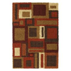 Mohawk Home Block Shag Rug Collection