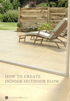 How to create indoor-outdoor flow with Valverdi matching 10mm and 20mm porcelain tiles