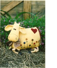 Cow Pincushion