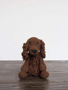Say hello to Chad the American Water Spaniel! This handsome amigurumi crochet project comes complete with our luxurious pure wool yarn and an easy-to-follow downloadable pattern with video links for all the techniques.
