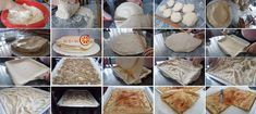 HOW TO MAKE ZELNIK STEP BY STEPKnead foodHOW TO MAKE ZELNIK STEP BY STEP Appetizer Recipes, Dessert Recipes, Dinner Recipes, Appetizers, Desserts, Macedonian Food, Filo Pastry, Food Tags, Large Tray