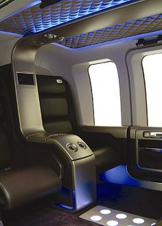 Bell 206L Longranger (by Seymourpowell) Car Interior Design, Interior Sketch, Private Jet Interior, Airplane Interior, Luxury Helicopter, Airplane Seats, Pilot Training, Aircraft Interiors, Transportation Design